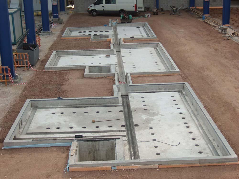 Proyecto de cimentación para Talleres Martínez 5