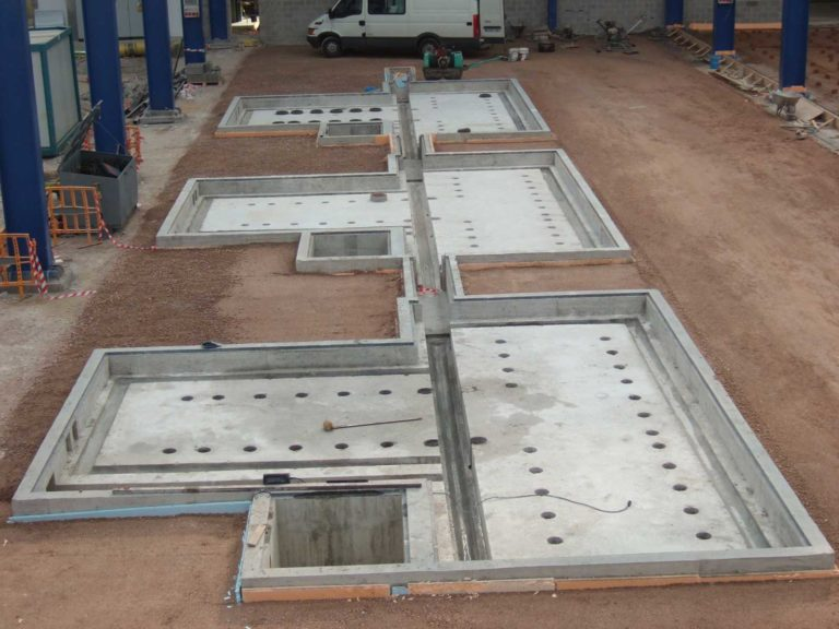 Proyecto de cimentación para Talleres Martínez