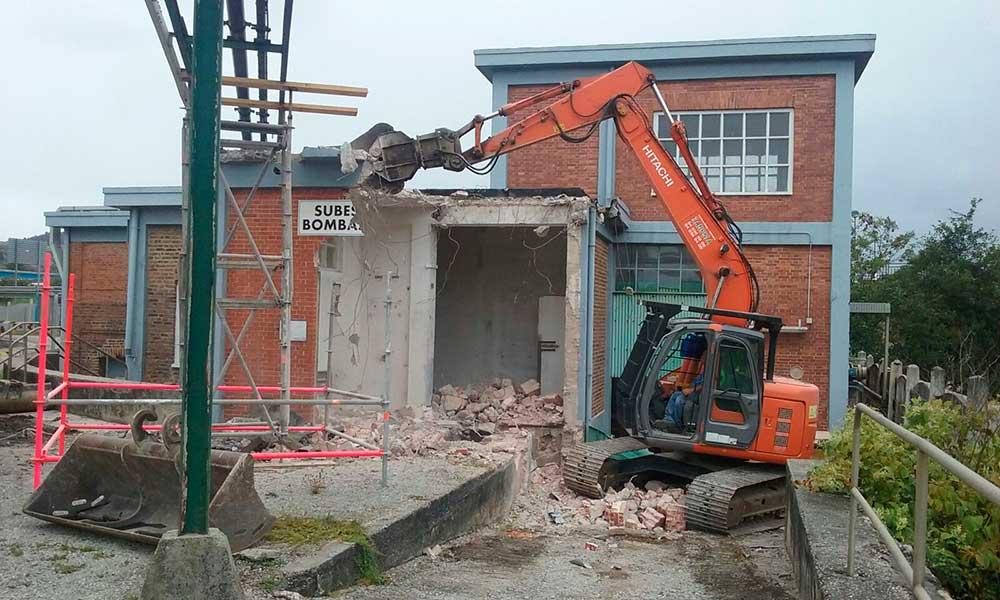 agama servicios mantenimiento industrial demolición