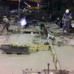 construccion horno induccion gsw base cemento