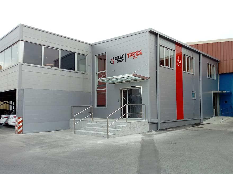 fachada principal ofinas TYCSA