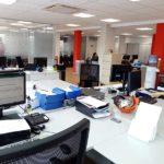 interior oficina remodelada