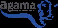 logotipo agama, fondo transparente